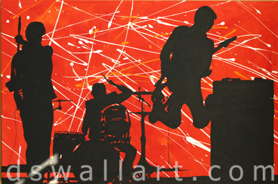 Ds Wall Art Personalized Paintings Abstract Art Rock